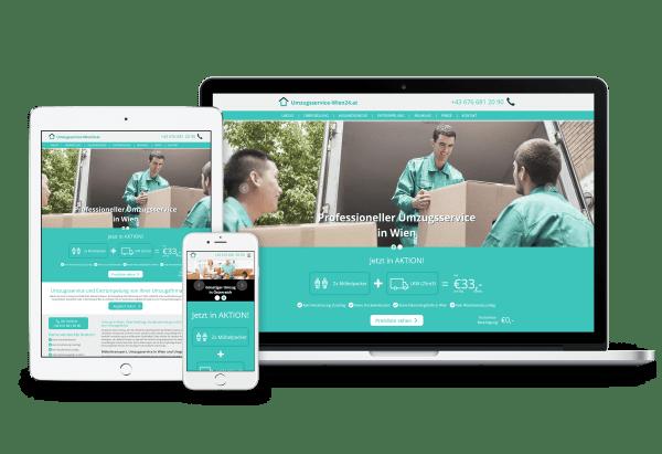 Responsive Webdesign Wir Erstellen Website Homepage Für Sie